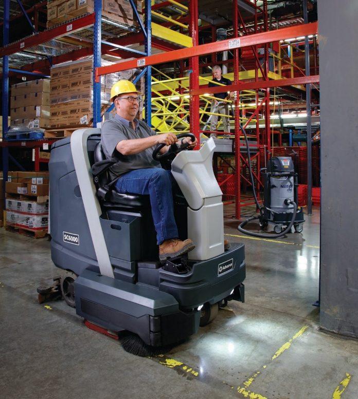 floor scrubber machine rental