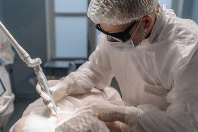 Glaucoma laser surgery