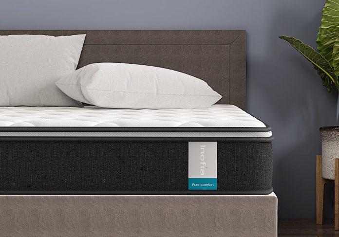 pocket sprung memory foam mattress